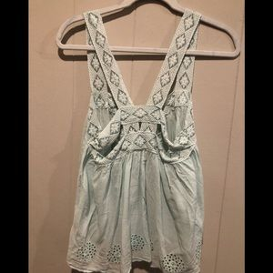 Free people blue camisole S